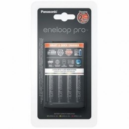 Panasonic eneloop Basic Battery Ładowarka 1-4 AA/AAA, 4 x R6/AA 2500 mAh black incl.