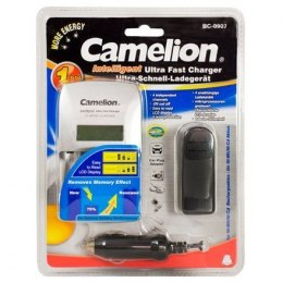 Camelion Ultra Fast Battery Ładowarka BC-0907 1-4 AA/AAA Ni-MH Batteries, Pulse Charging Technology