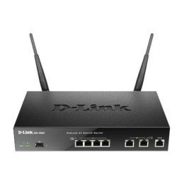 D-LINK DSR-500AC, Wireless VPN Firewall, 2 10/100/1000Base-TX WAN Ports, 4 10/100/1000Base-TX LAN Ports, Console port RJ-45, 1