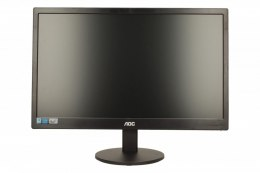 "AOC E970SWN 18.5 "", TN, HD, 1366 x 768 pixels, 16:9, 5 ms, 200 cd/m², Black, VGA"