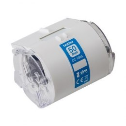Brother CZ-1005 White, Full colour continuous label roll, 5 m, 5 cm