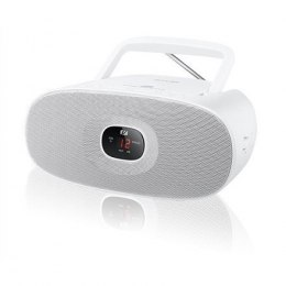 Muse MD-202RDW White, Portable radio CD player,