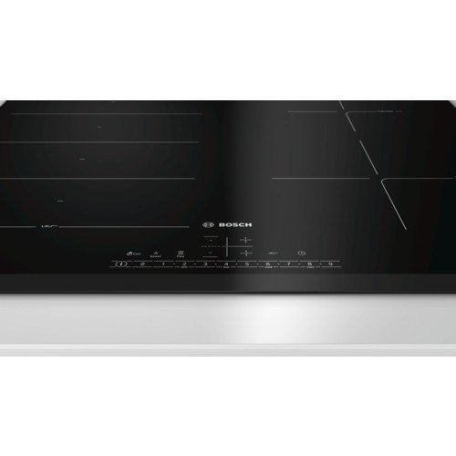 Bosch hob PXE651FC1E Induction, Number of burners/cooking zones 4, Black, Display, Timer