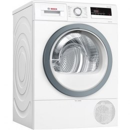 Bosch Dryer mashine WTR85VS8SN Condensed, Sensitive dry, 8 kg, Energy efficiency class A++, Self-cleaning, White, LED, Depth 60