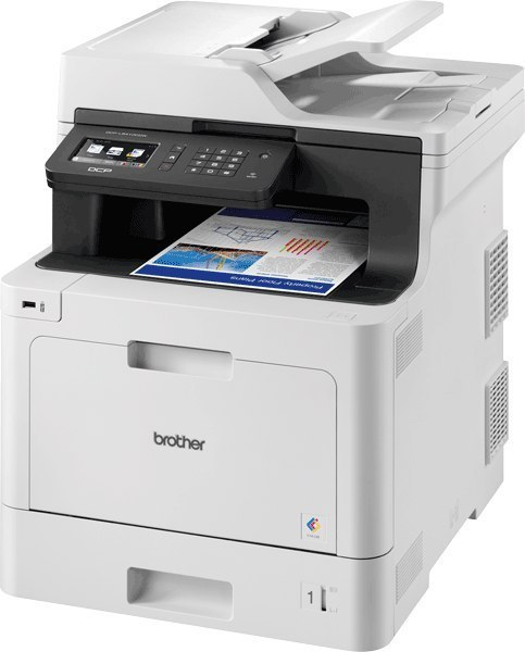 Brother Wireless Colour Laser Printer DCP-L8410CDW Colour, Laser, Multifunctional, A4, Wi-Fi, Grey