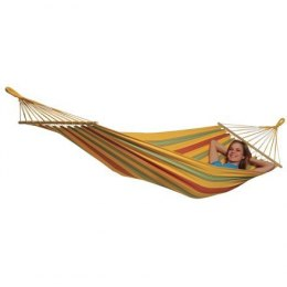 Amazonas Aruba vanilla (yellow) Double Hammock, 210x120 cm, 180 kg, Weatherproof and UV-resistant