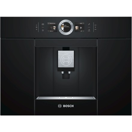 Bosch Built-in Coffe machine with Home Connect CTL636EB6 Pump pressure 19 bar, Built-in milk frother, Fully automatic, 1600 W, B