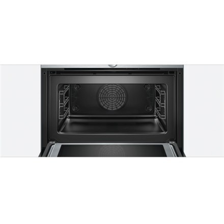 Bosch Compact oven with microwave CMG633BS1 45 L, Stainless steel, Regular, Touch, Built-in oven, 1000 W