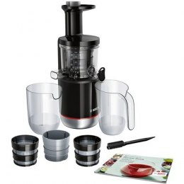 Bosch MESM731M Type Slow Juicer, Black, 150 W, 55 RPM