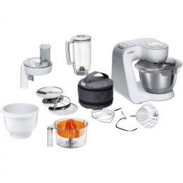 Bosch MUM58243 Food processor, 1000W, Bowl capacity: 3.9L, Mixer capacity: 1,25L, 7 speed settings, White Bosch Bosch MUM59343