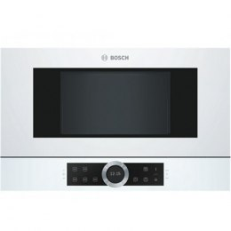 Bosch Microwave Oven BFR634GW1 21 L, Touch Control, 900 W, White, Built-In, Defrost function
