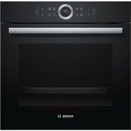 Bosch Oven HBG632BB1S Multifunctional, 71 L, Black, activeClean, Rotary switch, Height 59.5 cm, Width 59.5 cm, Integrated timer,