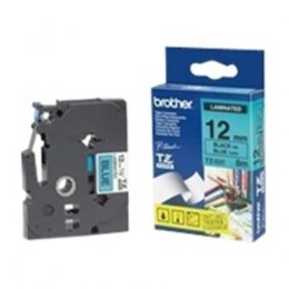 Brother TZ-E531, 12mm black on blue tape Brother