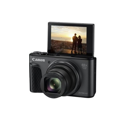 "Canon Powershot SX730 HS Compact camera, 20.3 MP, Optical zoom 40 x, Digital zoom 4.0 x, ISO 3200, Display diagonal 3.0 "", Wi-Fi"
