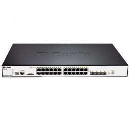 D-Link Switch DGS-3120-24PC Managed L3, Rack mountable, 1 Gbps (RJ-45) ports quantity 20, SFP ports quantity 4, PoE/Poe+ ports q