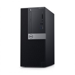 Dell OptiPlex XE3 Desktop, Tower, Intel Core i5, i5-8500, Internal memory 8 GB, DDR4, SSD 256 GB, Intel HD, 8x DVD+/-RW 9.5mm Op