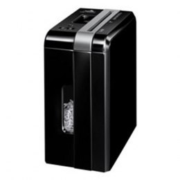 Fellowes Powershred DS-700Cs Black, 10 L, Credit cards shredding, Paper handling standard/output 7 sheets per pass, Warranty 24