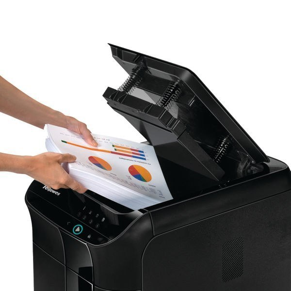 Fellowes Shredder AutoMAX 350C Paper shredding, Shredding CDs, Credit cards shredding, Auto Feed