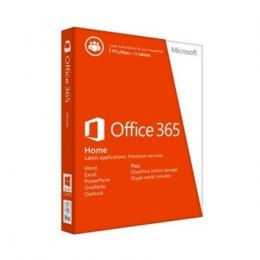 Microsoft 6GQ-00685 Office 365 Home Full packaged product (FPP), License term 1 year(s), Russian, Medialess
