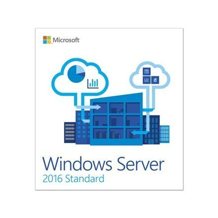 Microsoft Operating System Windows Server 2016 Standard 5 Clt P73-07041, Server, Medialess, Full packaged product (FPP), 64-bi