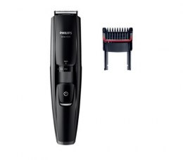 Philips Warranty 24 month(s), Step precise 0,2 mm, 17, Battery level indicator, 1 h, Vacuum Beard Trimmer, Beard Trimmer