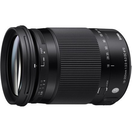 Sigma 18-300mm F3.5-6.3 DC Makro OS HSM Canon [CONTEMPORARY]