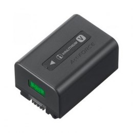 Sony Compact V-series InfoLITHIUM™ rechargeable battery with 7.3V mean output and 6.9Wh (950mAh) capacity. NP-FV50A