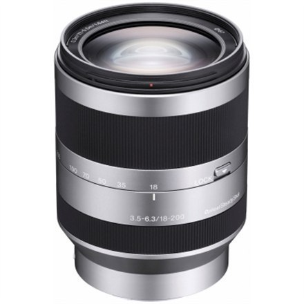 Sony SEL-18200 E18-200mm, F3.5-6.3 telephoto zoom lens