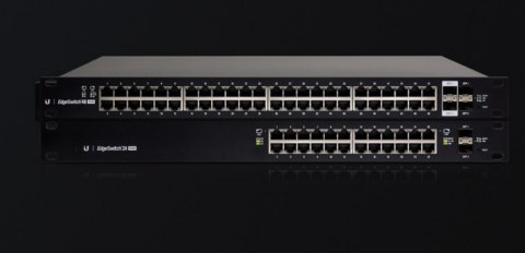 Ubiquiti Switch ES-24-250W Managed, Rack mountable, 1 Gbps (RJ-45) ports quantity 24, SFP ports quantity 2
