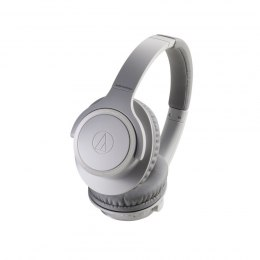 Audio Technica ATH-SR30BTGY Headband/On-Ear, Bluetooth, Microphone, Grey, Wireless
