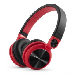 Energy Sistem Słuchawki  DJ2 (Foldable, Contol Talk, Detachable kabel) Headband/On-Ear, 3.5 mm, Microphone, Red,