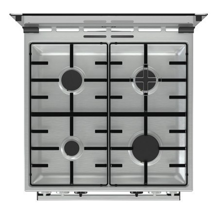Gorenje Cooker K634XH Hob type Gas, Oven type Electric, Inox, Width 60 cm, Electronic ignition, Grilling, LED, 71 L, Depth 60 c