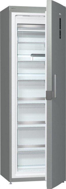 Gorenje Freezer FN6192PX Upright, Height 185 cm, Total net capacity 243 L, A++, Freezer number of shelves/baskets 6, Display, Si