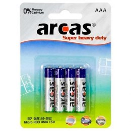 Arcas AAA/R03, Super Heavy Duty, 4 pc(s)
