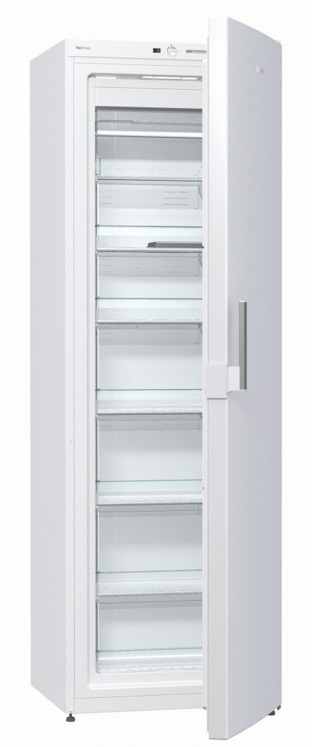 Gorenje Freezer FN6191DHW Upright, Height 185 cm, Total net capacity 243 L, A+, Freezer number of shelves/baskets 6, Display, Wh