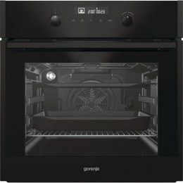 Gorenje Oven BO747A33BG Built-in, 71 L, Black, AquaClean, IconTouch, Height 60 cm, Width 60 cm