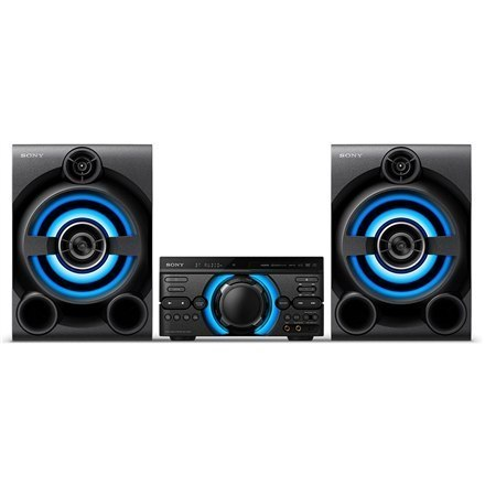 Sony High Power Home Audio System MHC-M60D USB port, Bluetooth, FM radio, CD player