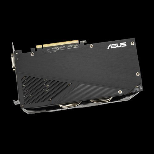 Asus 1660 DUAL-GTX1660-O6G-EVO NVIDIA, 6 GB, GeForce GTX 1660, GDDR5, PCI Express 3.0, Processor frequency 1845 MHz, Memory cl