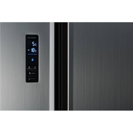 ETA Refrigerator ETA138890010 Free standing, Side by Side, Height 177 cm, A+, No Frost system, Fridge net capacity 291 L, Freeze