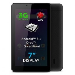 "Allview AX503 7 "", Black, LCD, 1024 × 600 pixels, Cortex-A7 Quad-Core, 1.3 GB, 8 GB, 3G, Wi-Fi, Front camera, 2 MP, Bluetooth, 4"