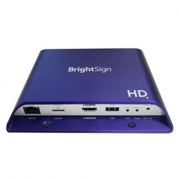 BrightSign HD1024 Expanded I/O Player Mainstream HTML5 player with expanded I/O package