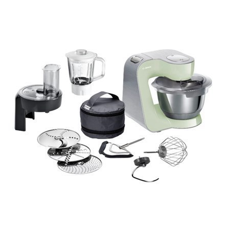 Bosch Food Processor MUM58MG60 Light green, 1000 W, Number of speeds 7, 3.9 L, Blender