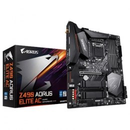 Gigabyte Z490 AORUS ELITE AC Processor family Intel, Processor socket LGA1200, DDR4 DIMM, Memory slots 4, Chipset Intel Z, ATX