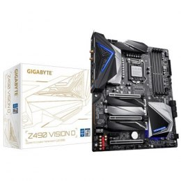 Gigabyte Z490 VISION D 1.1 Processor family Intel, Processor socket LGA1200, DDR4 DIMM, Memory slots 4, Chipset Intel Z, ATX