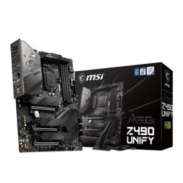 MSI MEG Z490 UNIFY Processor family Intel, Processor socket LGA1200, DDR4, Memory slots 4, Chipset Intel Z, ATX