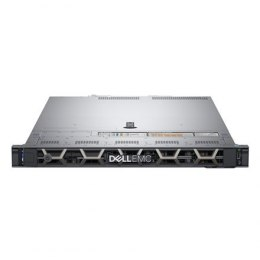 Dell PowerEdge R440 Rack (1U), Intel Xeon, 1x Silver 4214, 2.2 GHz, 16.5 MB, 24T, 12C, RDIMM, 3200 MHz, No RAM, No HDD, Up to 8