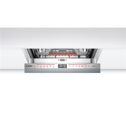 Bosch Serie 6 Dishwasher SPV6ZMX23E Built-in, Width 45 cm, Number of place settings 10, Number of programs 6, A+++, Display, Aqu