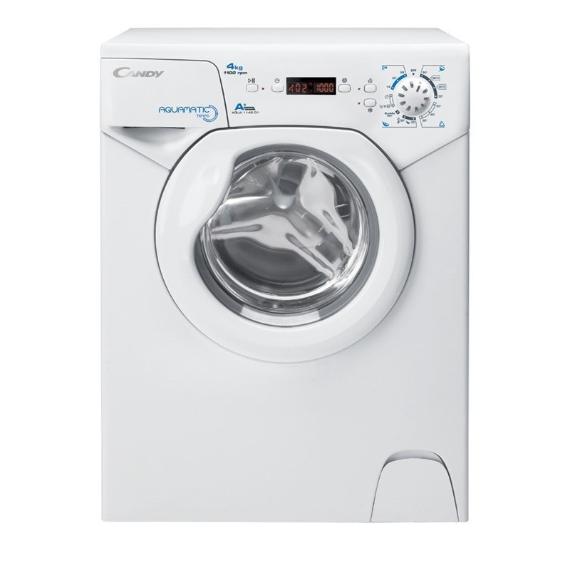 Candy Washing maschine AQUA 1142DE/2-S Front loading, Washing capacity 4 kg, 1100 RPM, A+, Depth 45 cm, Width 51 cm, White, Digi