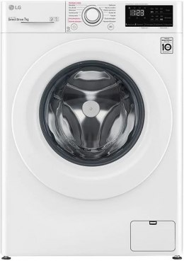 LG Washing Machine F4WN207S3E A+++ -30%, Front loading, Washing capacity 7 kg, 1400 RPM, Depth 56 cm, Width 60 cm, Display, LED,
