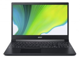 "Acer Aspire 7 A715-75G-599A Charcoal Black, 15.6 "", IPS, FHD, 1920 x 1080 pixels, Matt, Intel Core i5, i5-9300H, 8 GB, DDR4, SSD"